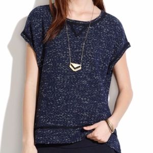Madewell Nightsky Short Sleeve Sweatshirt